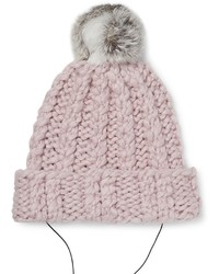 Rebecca Minkoff Always On Cable Knit Headphone Beanie