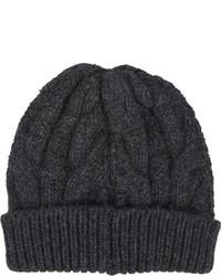 Barneys New York Cable Knit Beanie