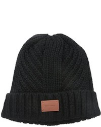 Bickley Mitchell Cable Knit Beanie With Faux Sherpa Lining