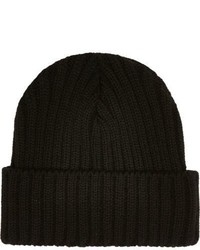 River Island Black Knit Beanie