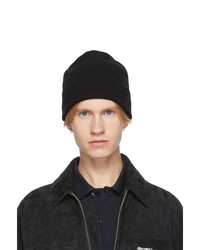 Paul Smith Black Wool Beanie