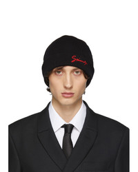 Givenchy Black Wool Beanie