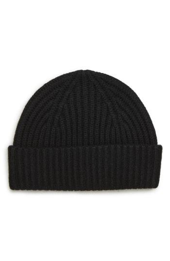 Cashmere Knit Cap. Black Knit Beanie by Nordstrom ... 7e95ab092d3