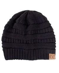 Cc Beanie Black Knit Beanie