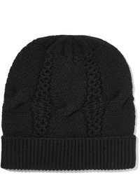 Duffy Cable Knit Merino Wool Beanie
