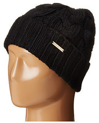 MICHAEL Michael Kors Michl Michl Kors Cable Knit Hat With Fold Up Cuff