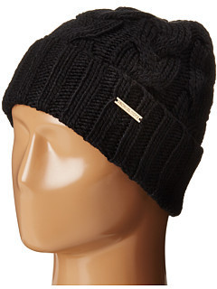 525553cb9e ... MICHAEL Michael Kors Michl Michl Kors Cable Knit Hat With Fold Up Cuff  ...