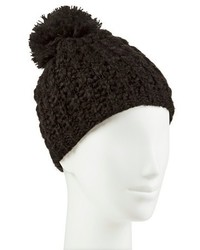 Moonshadow Chunky Knit Hat With Pom