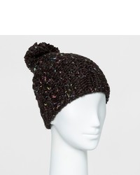 Mossimo Supply Co Chunky Knit Beanie With Pom Supply Co