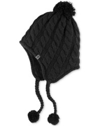 The North Face Cable Knit Earflap Beanie Hat