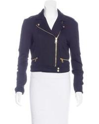 Brit knit biker jacket medium 6697996