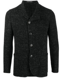 Emporio Armani Textured Single Breasted Blazer