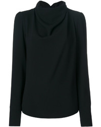 Maison Margiela Funnel Neck Knitted Top