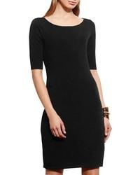 Knit body con dress medium 817298