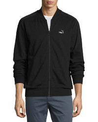 Puma Knit Bomber Jacket Black