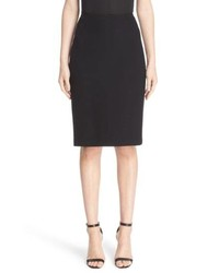 St. John Collection Micro Boucle Pencil Skirt