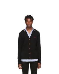 Givenchy Black Cashmere Signature Cardigan