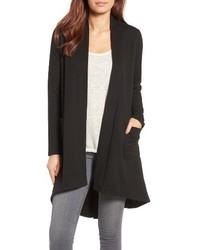 Highlow fleece knit cardigan medium 3684858