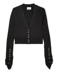 3.1 Phillip Lim Ribbed Wool Blend Cardigan