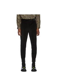 Neil Barrett Black Slim Corduroy Trousers