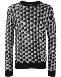 Balmain Cable Knit Jumper