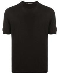 Tagliatore Fine Knit Crewneck T Shirt