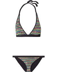 Missoni Mare Crochet Knit Triangle Bikini
