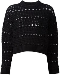 Proenza schouler cropped chunky knit jumper medium 254966
