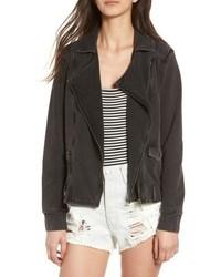 Knit Moto Jacket
