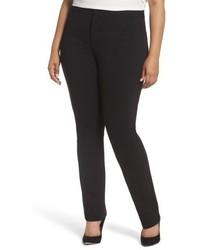 NYDJ Plus Size Stretch Knit Straight Leg Trousers