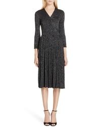 kate spade new york Metallic Sweater Dress