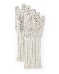 Rag & Bone Jean Catherine Speckle Knit Cashmere Gloves