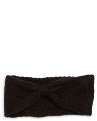 Wooden Ships Knit Wool Blend Bow Headband