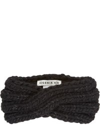 Eugenia Kim Lula Headband Black
