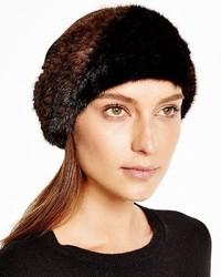 Maximilian Furs Maximilian Knitted Mink Headband