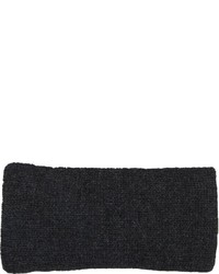 Barneys New York Rib Knit Headband Black