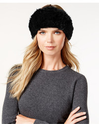 Surell Stretchy Sheared Rabbit Fur Headband Neckwarmer