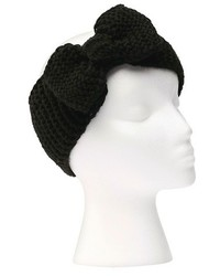 Sylvia Alexander Knit Headband With Bow Detail