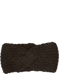 Anna Kula Twist Headband Black