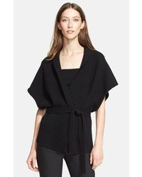 Black Knit Kimono