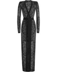 Balmain Floor Length Knit Cardigan