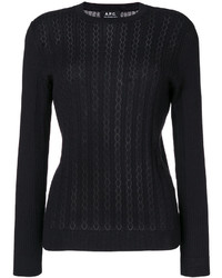A.P.C. Lace Knit Jumper