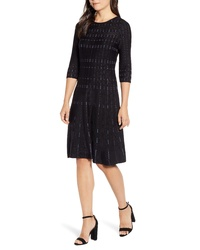 Nic+Zoe Flashing Lights Sweater Dress