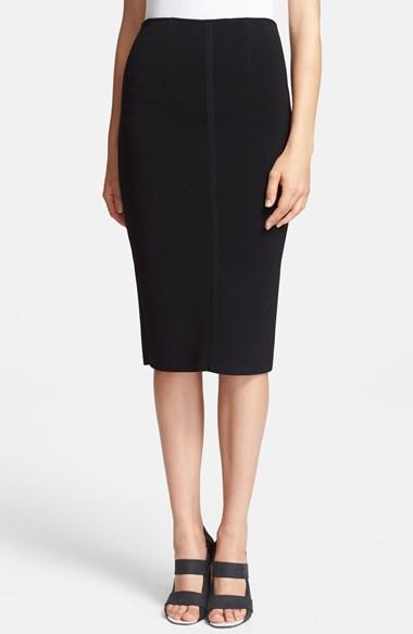 c3daa8f2e Proenza Schouler Knit Pencil Skirt, $1,150 | Nordstrom | Lookastic.com