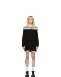Opening Ceremony Black Off The Shoulder Dress