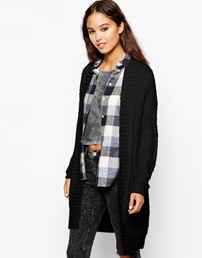 Only Chunky Knit Long Line Cardigan | Where to buy & how to wear