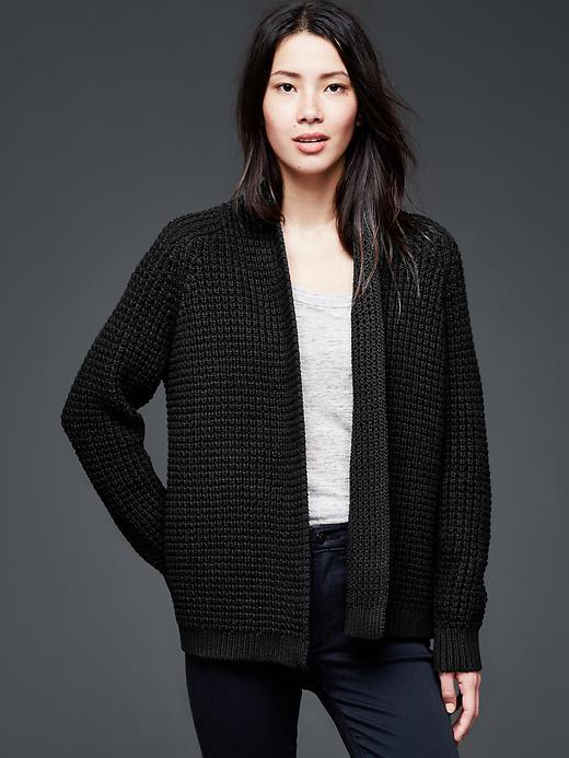 Gap Chunky Knit Open Front Cardigan | Where to buy & how to wear