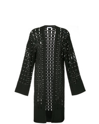 Versace Collection Pointelle Knit Cardigan