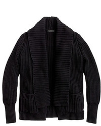 J.Crew Rib Stitch Open Cardigan Sweater