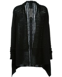 Rick owens asymmetric cardigan medium 842744